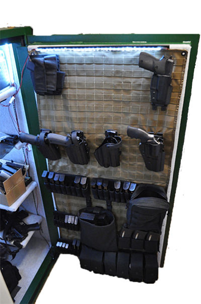 Molle Gun Safe Door Panel Organizer Wilde Custom Gear