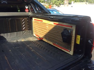 Truck Bed MOLLE Panel Organizer