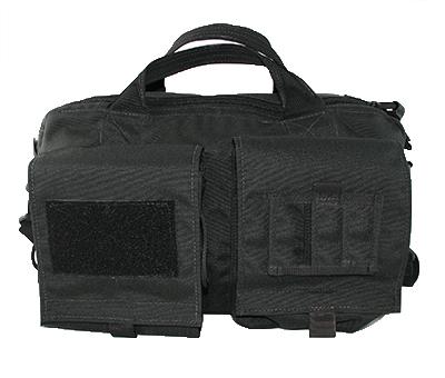 Black Tactical Briefcase