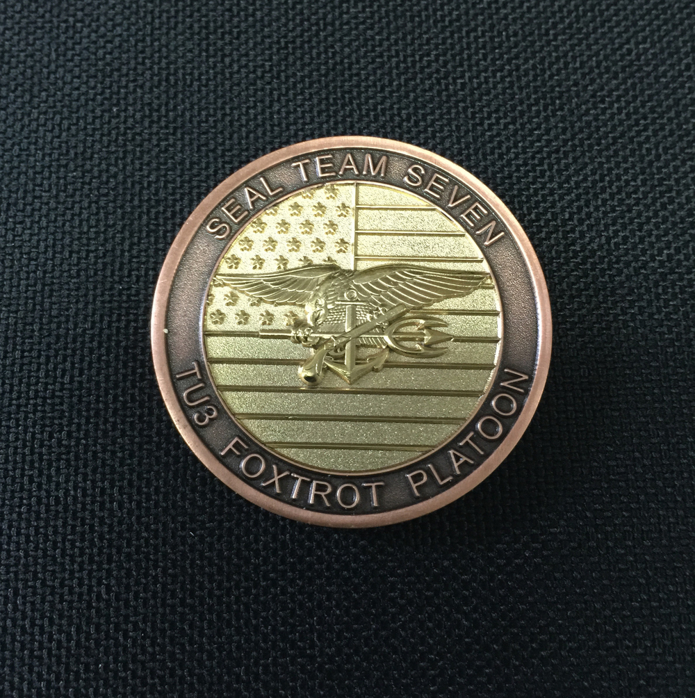 Seal Team Seven Challenge Coin - Wilde Custom Gear