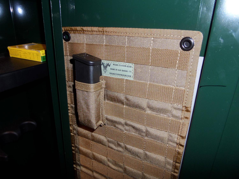 improved and free door organizer duty new standard open doors safe gun steelwater product