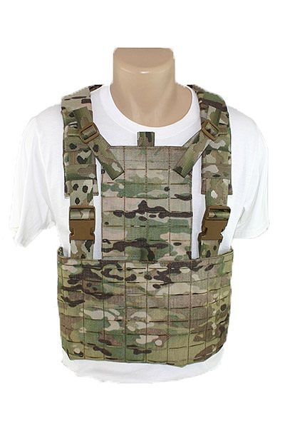 Laser Cut MOLLE Chest Rig