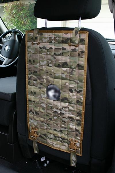 Molle Seat Back Panel Wilde Custom Gear Tactical Nylon