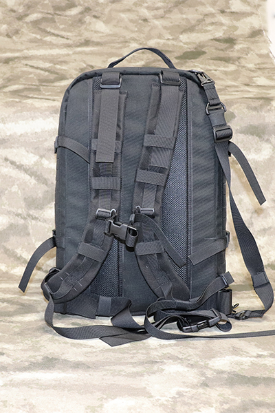 Wilde Custom Gear Mobile Laptop Monitor Command Center Backpack