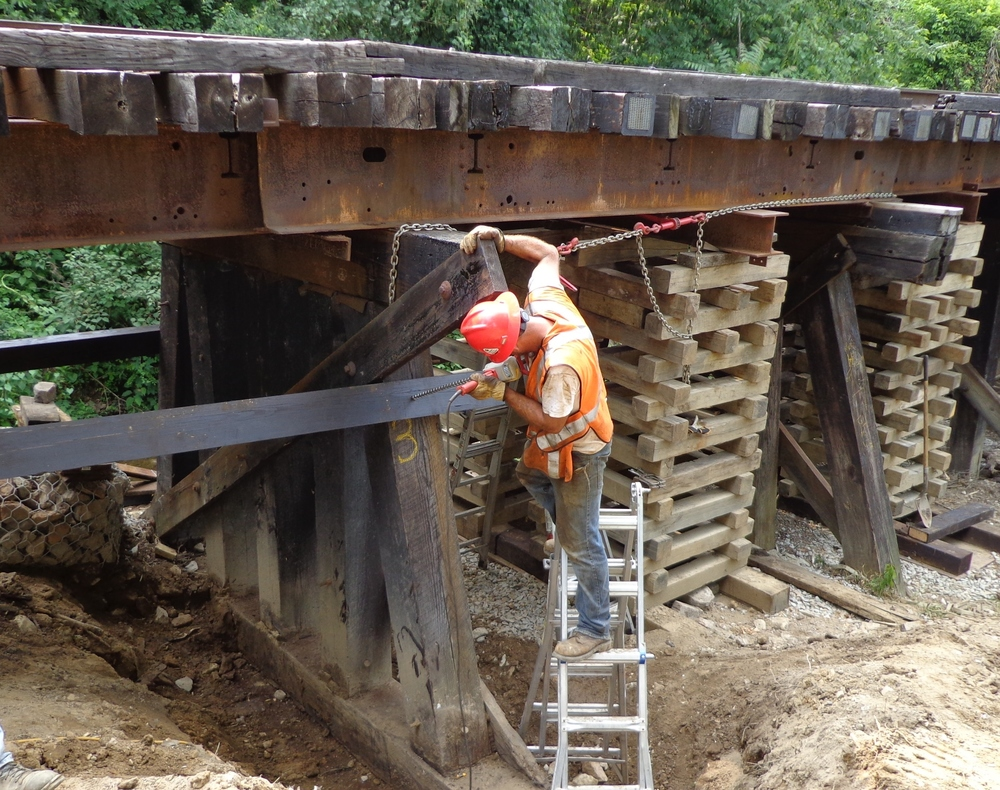 Bridge work, Zanesville, OH.JPG