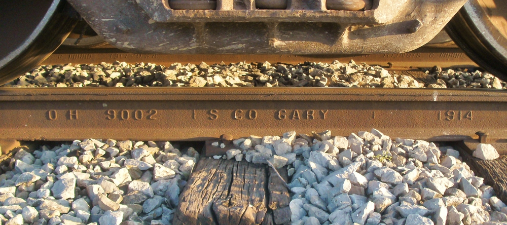 Maintaining 100-year old rail..JPG
