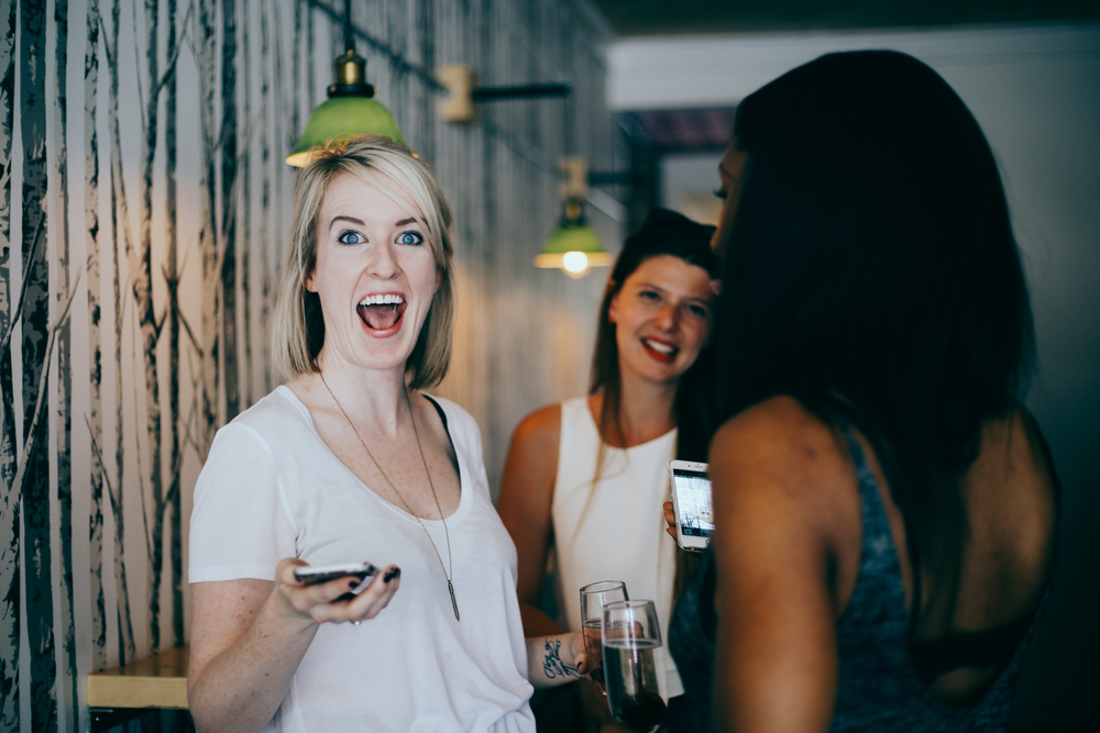 Overly excited event host Lauren of @thisrenegadelove. Trust me the feeling was mutual!