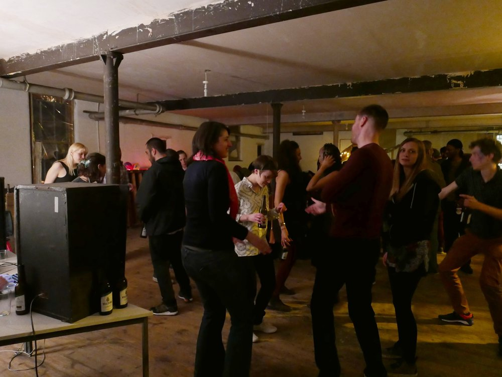 A social event in The Top Floor Studio