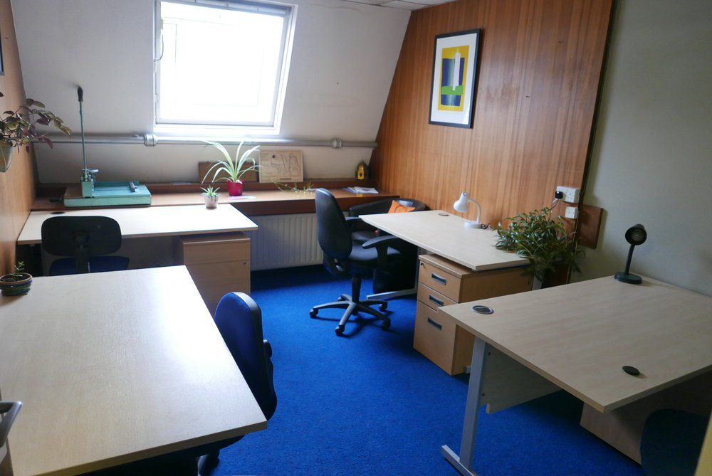 Our dedicated desk room -