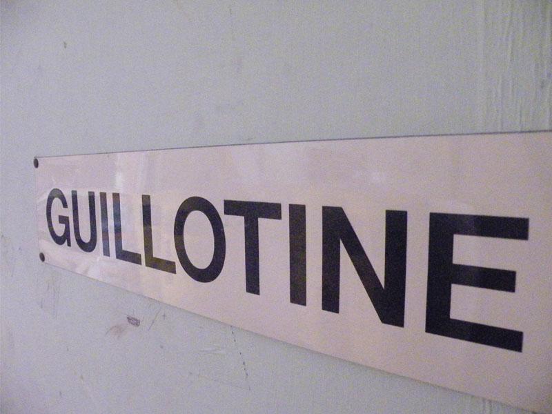 Guillotine Department