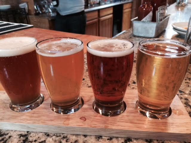 Have a flight and sample 4 of our great Craft beers on tap