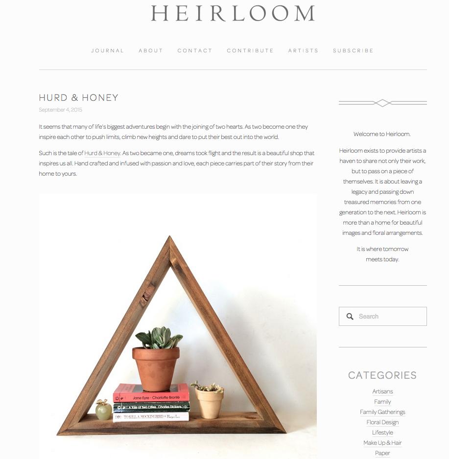 Heirloom Magazine