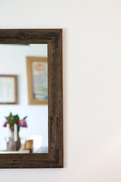 42 x 30 Framed Mirror Handcrafted With Reclaimed Wood — Hurd & Honey