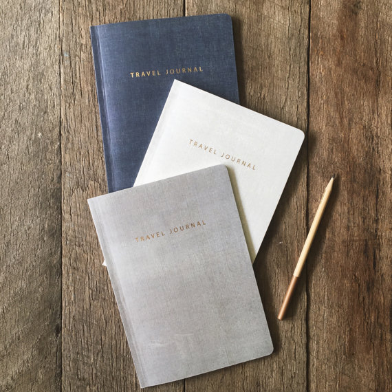 The same travel journal - various colors offered (Wayfaren)