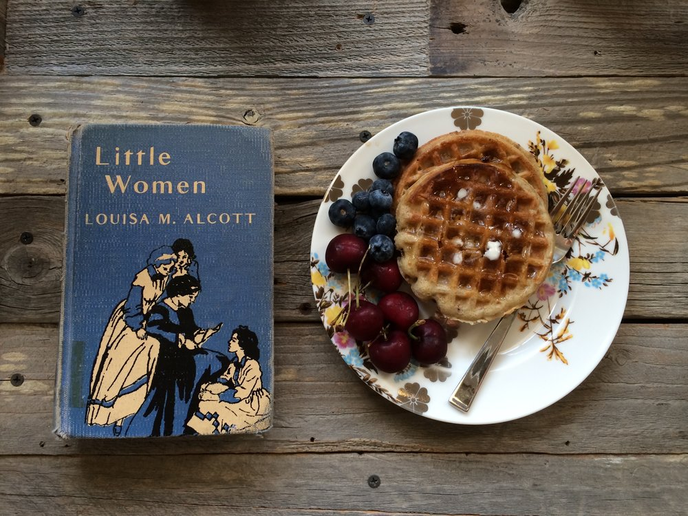 I think you've noticed that I love Little Women, yes, it's one of my top five books. I just love how different the March sisters are, and how any young girl can relate to one of them. My favorite was always Jo March.