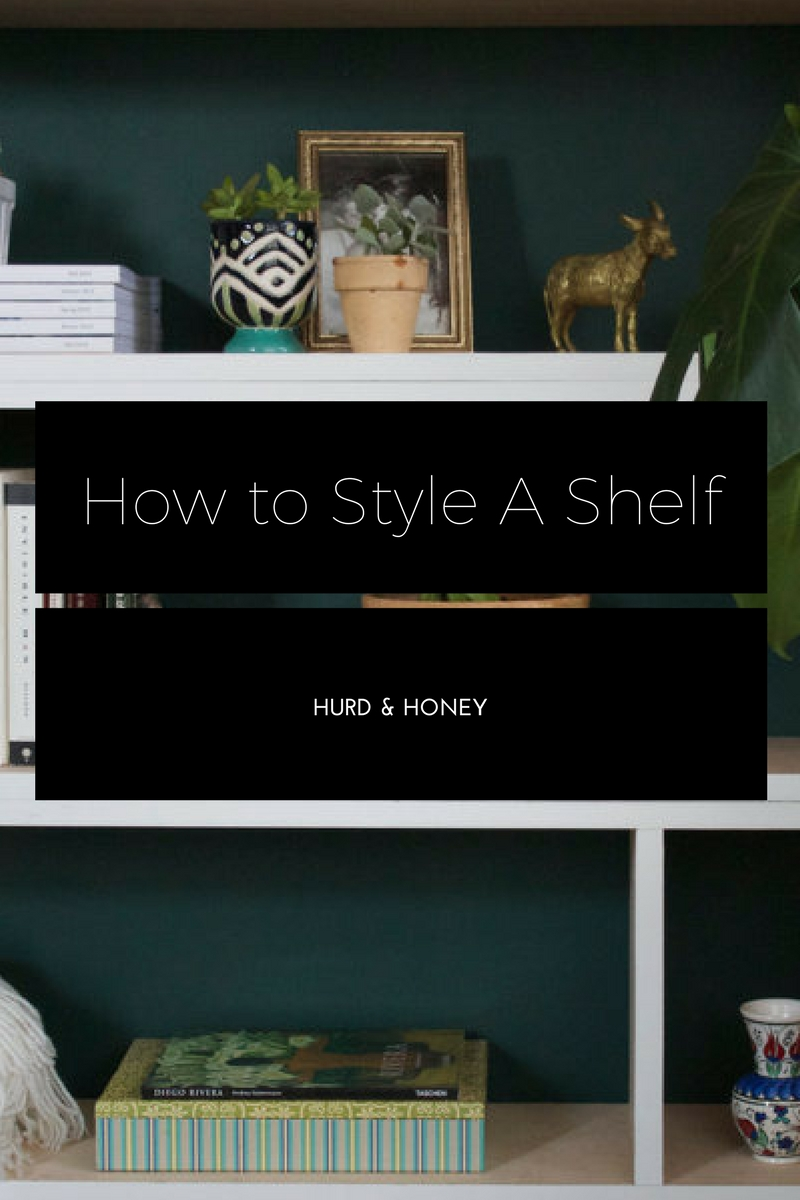 Midcentury Modern Shelf - By Hurd & Honey