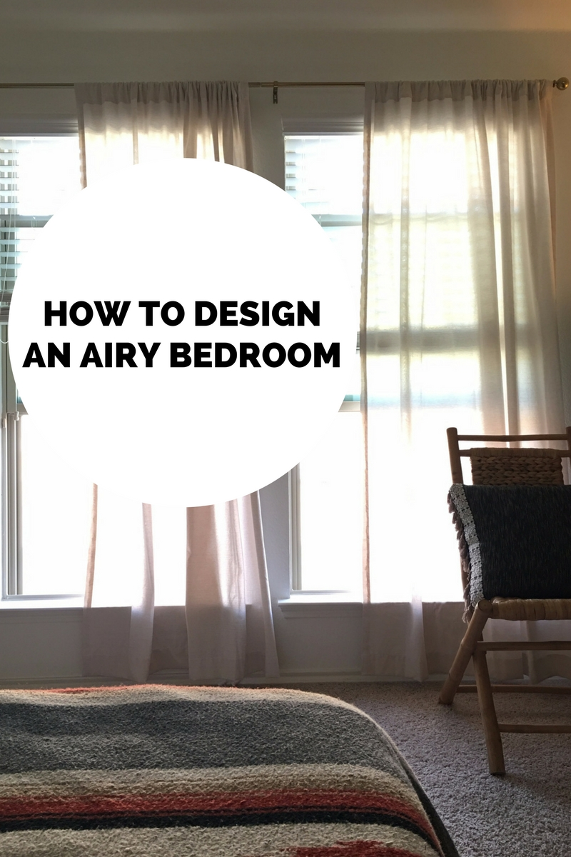Ahhh the feel of an airy bedroom is like having a mini retreat in your own home. While we have a lot of color in our home our bedroom is the most ... & How to Design an Airy Bedroom \u2014 Hurd \u0026 Honey