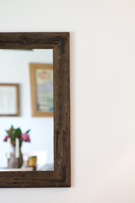 42 x 30 Framed Mirror Pair - Handcrafted With Reclaimed Wood — Hurd ...