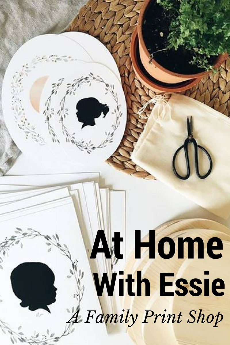 At Home With Essie - A Family Print Shop
