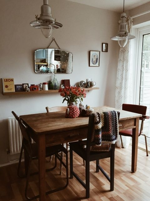 Forgo The Formal Elements And Keep Your Dining Space Humble And Cozy. Knit  Blankets And Family Artifacts Always Cozy Things Up.