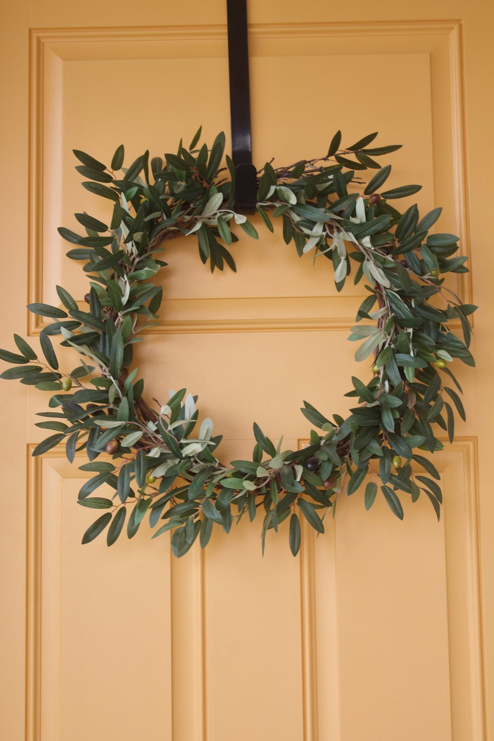 "Our wreath from  ""Silk Plants Direct"""