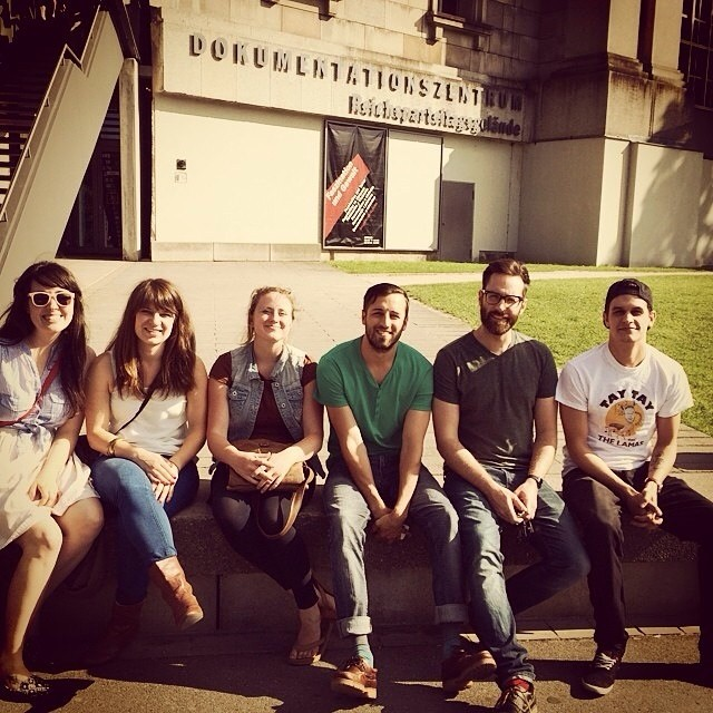 Some of our #pocketeers hangin out in #nurnberg; one of the three cities where Pick A Pocket has expanded to.