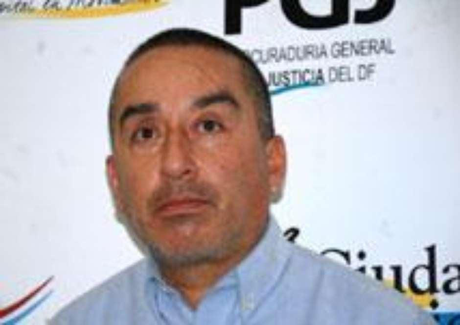 Con ustedes, el auténtico HDP que nos defraudó. Martín Raúl Martinez Paz    Foto: Cortesía de la PGJDF