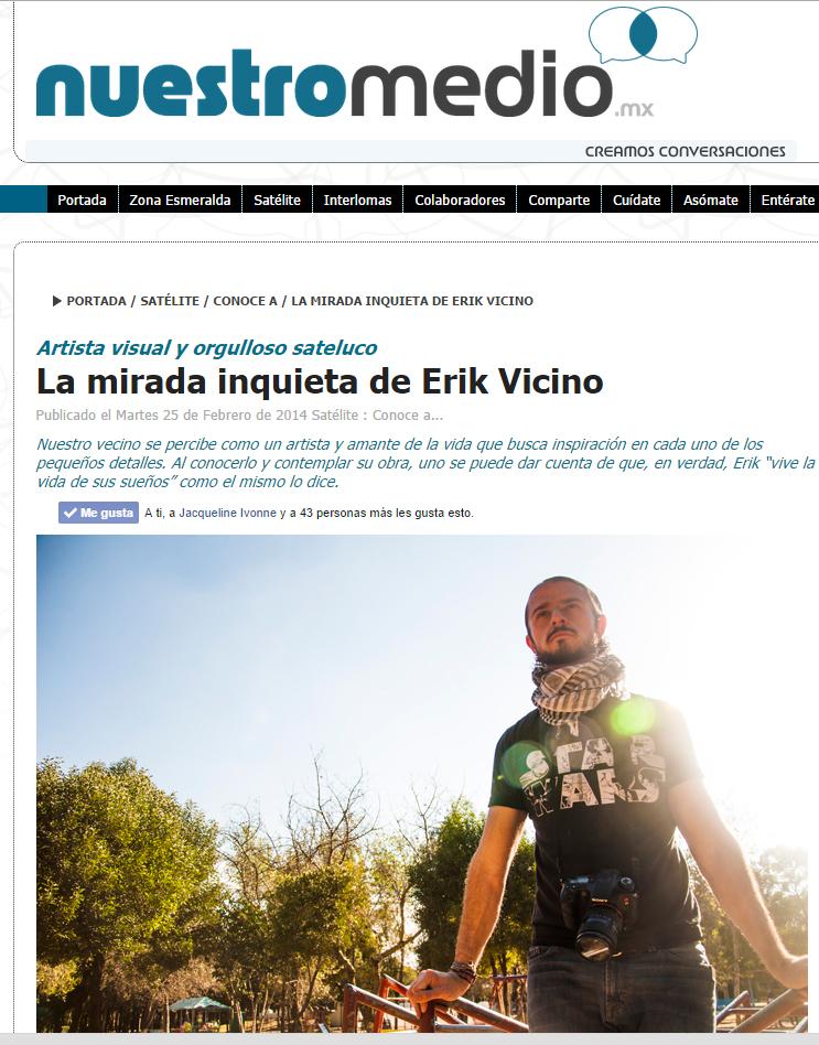 La portada del artículo