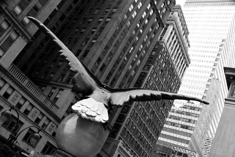 Політ, 42-га вулиця, NYC