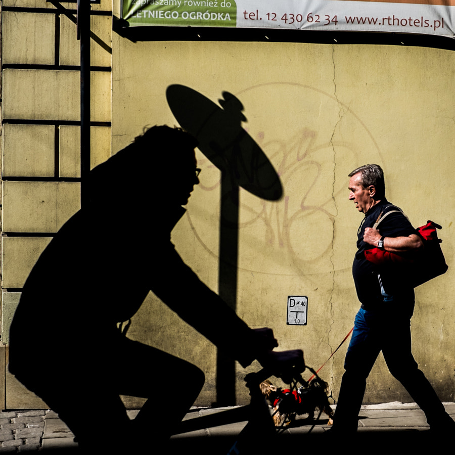 Man dog & shadow  by  Korneliusz Moczko  on  500px.com