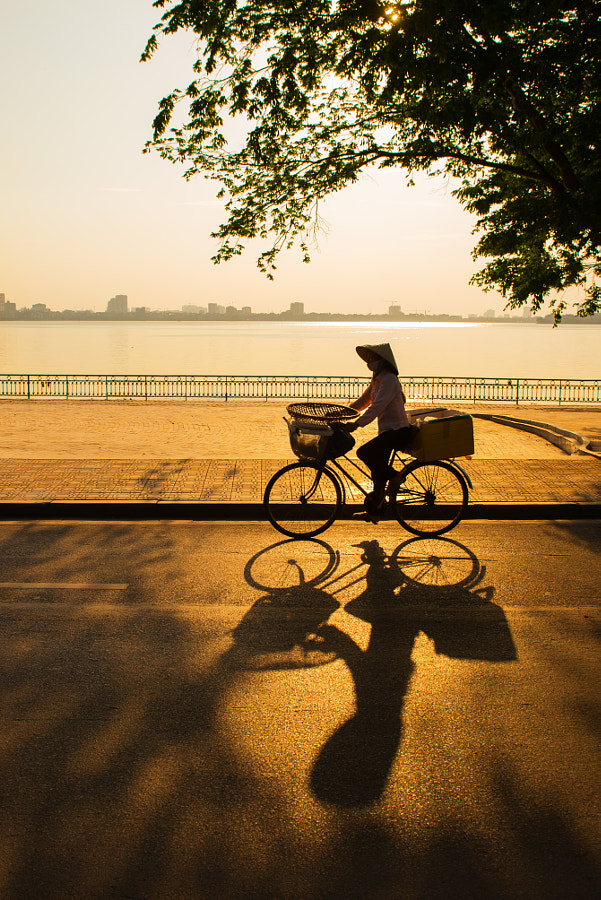 Sunset at West lake - Hanoi  by  Quang Vu  on  500px.com