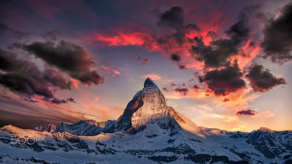 Amazing Matterhorn  by  Thomas Fliegner  on  500px.com