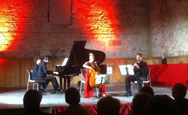 Classic' en Normandie Edition #1 Grand Grenier à Sel de Honfleur  Tanguy de Williencourt, Piano  Didier Pernoit, Clarinette  Maude Ferey, Violoncelle