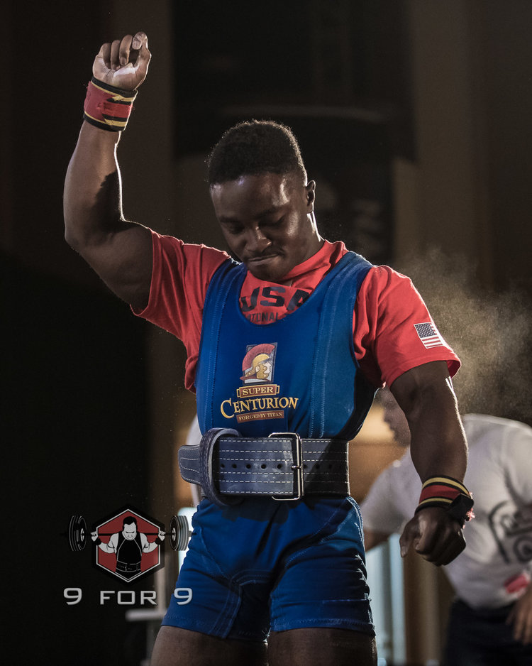 Charles Okpoko will represent USA Powerlifting at the 2017 World Games this summer!
