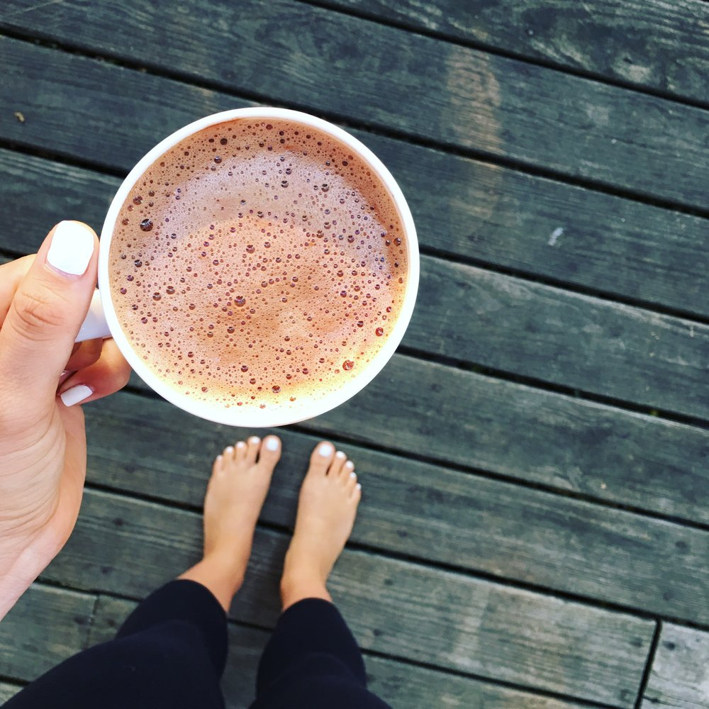 Superfood Hot Cocoa -  perfect for Winter!