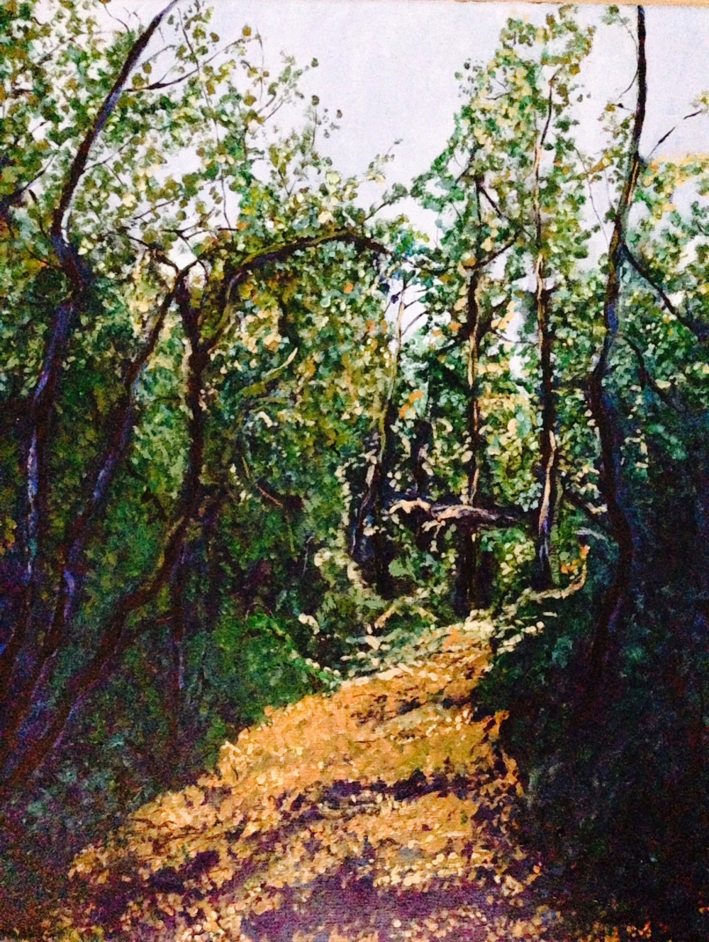 Windermere, B.C. Acrylic on Canvass, 16x20.  SOLD