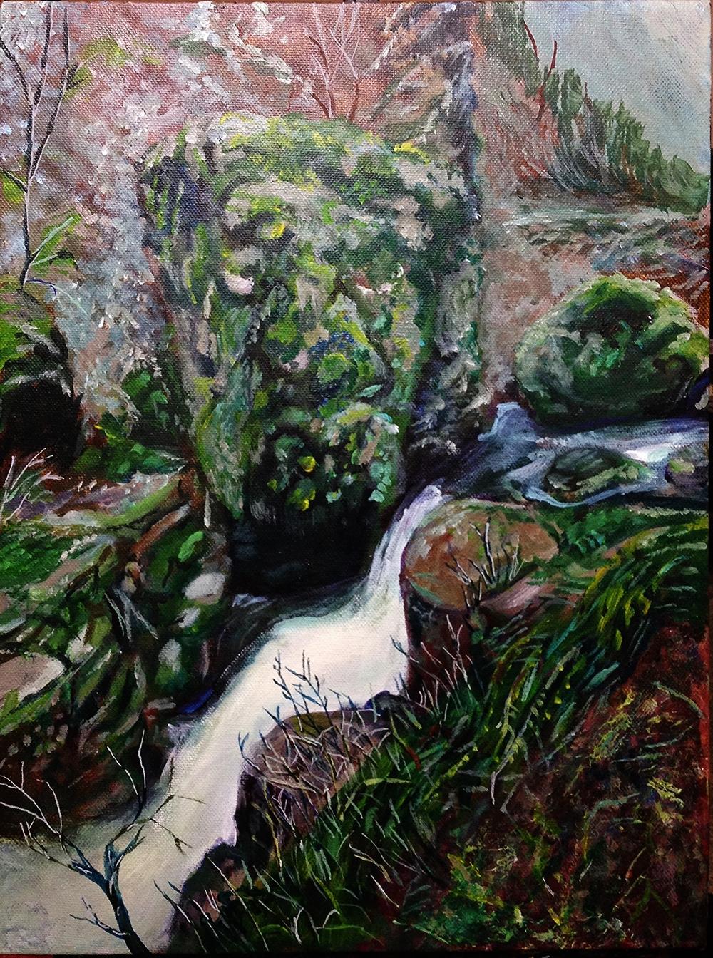 Elowa Falls, Oregon