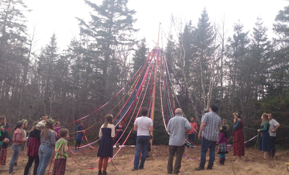 The Maypole... the beginning.