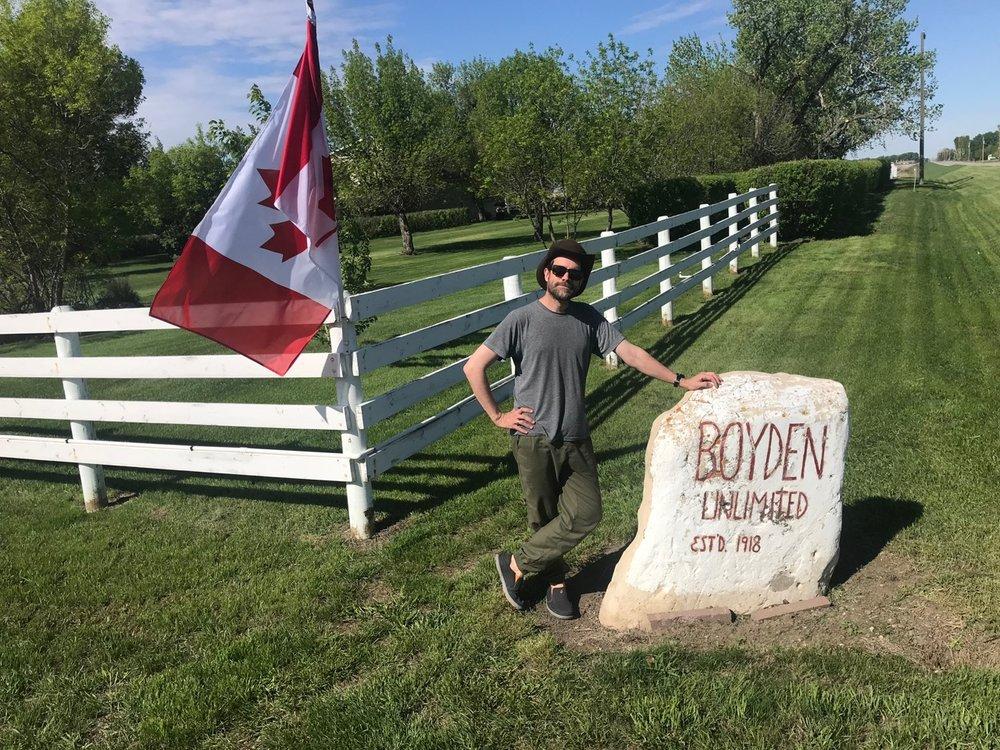 The Boyden Rock outside of Lethbridge, Alberta