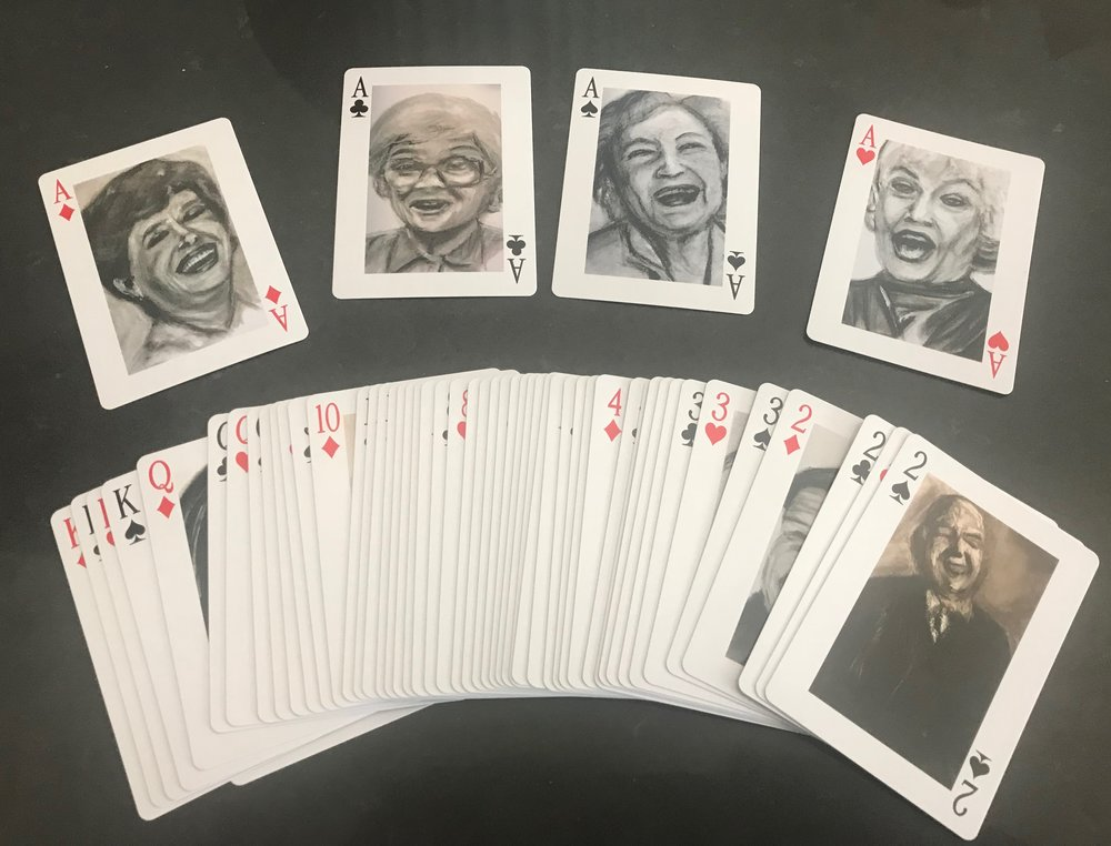 All Aces…  The Golden Girls featured in the Laugh a Day Deck.