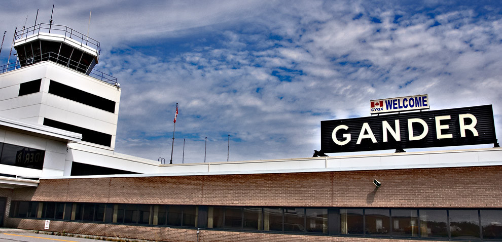 Welcome to Gander International Airport