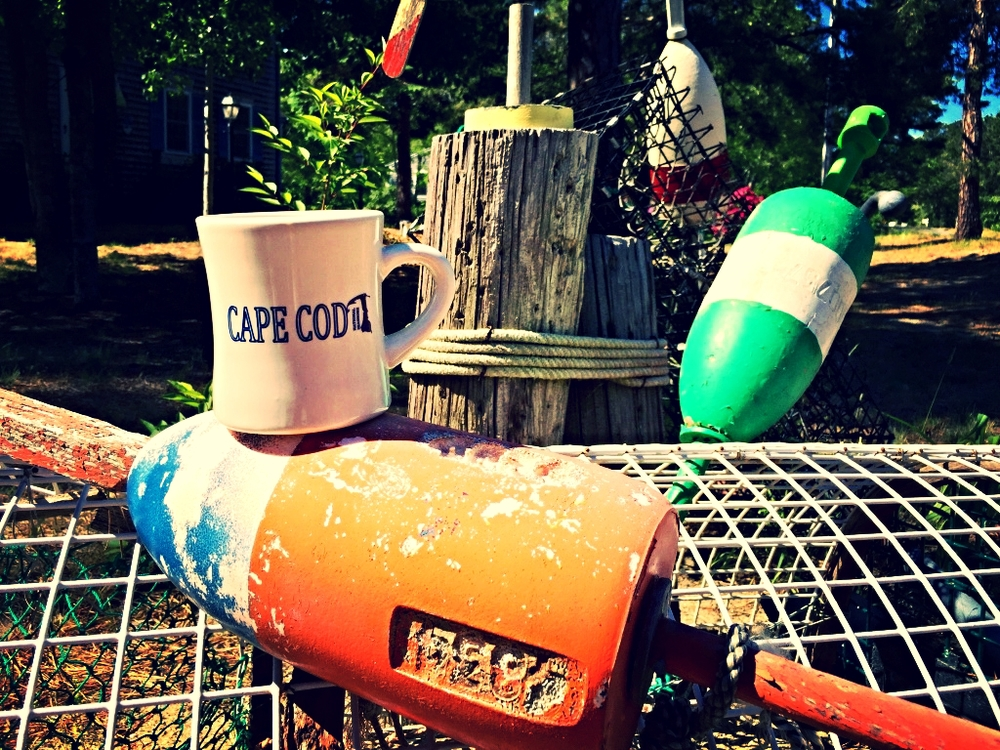 Crab Pots and Markers...staples of a Cape Cod life.