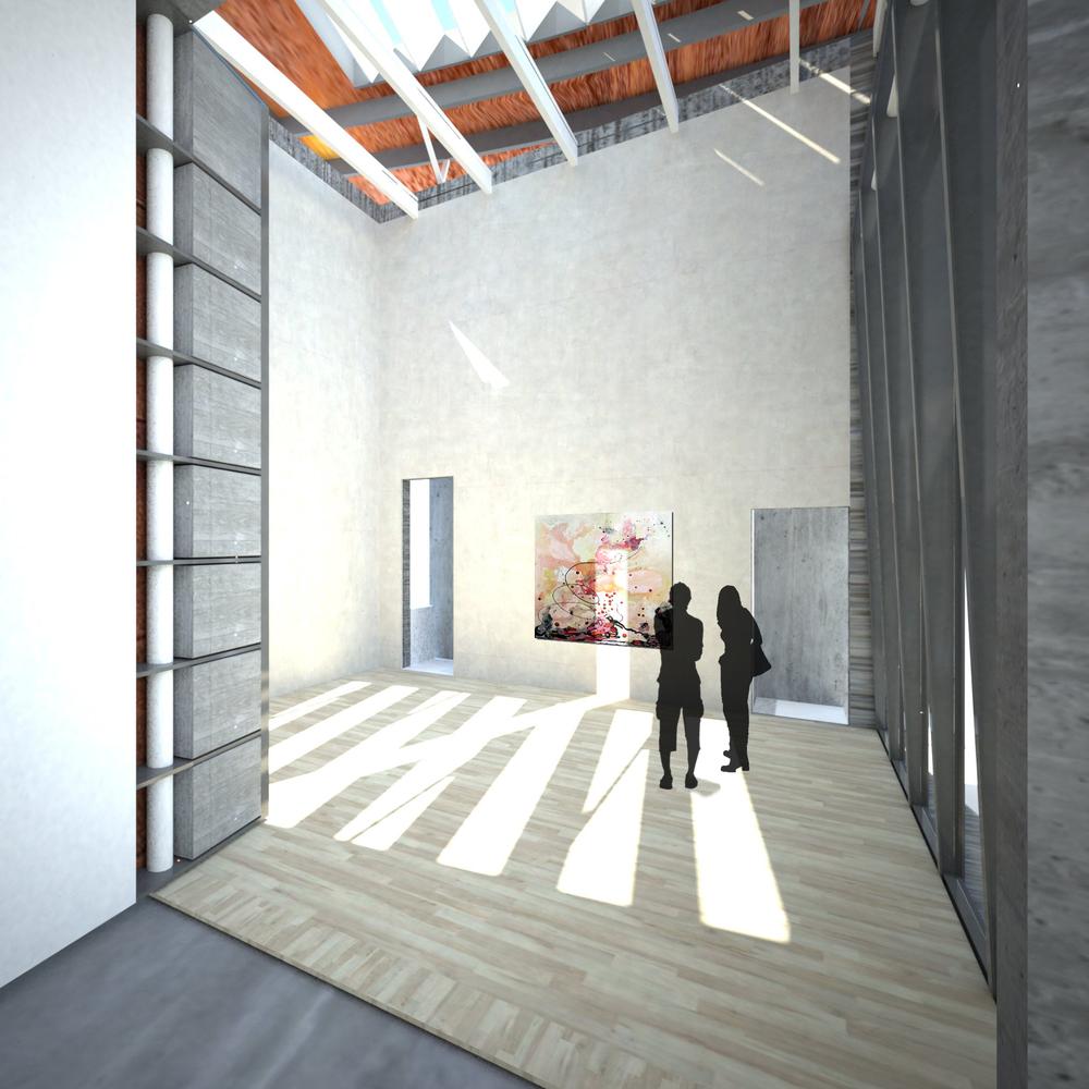 Artist's studio | Viewing