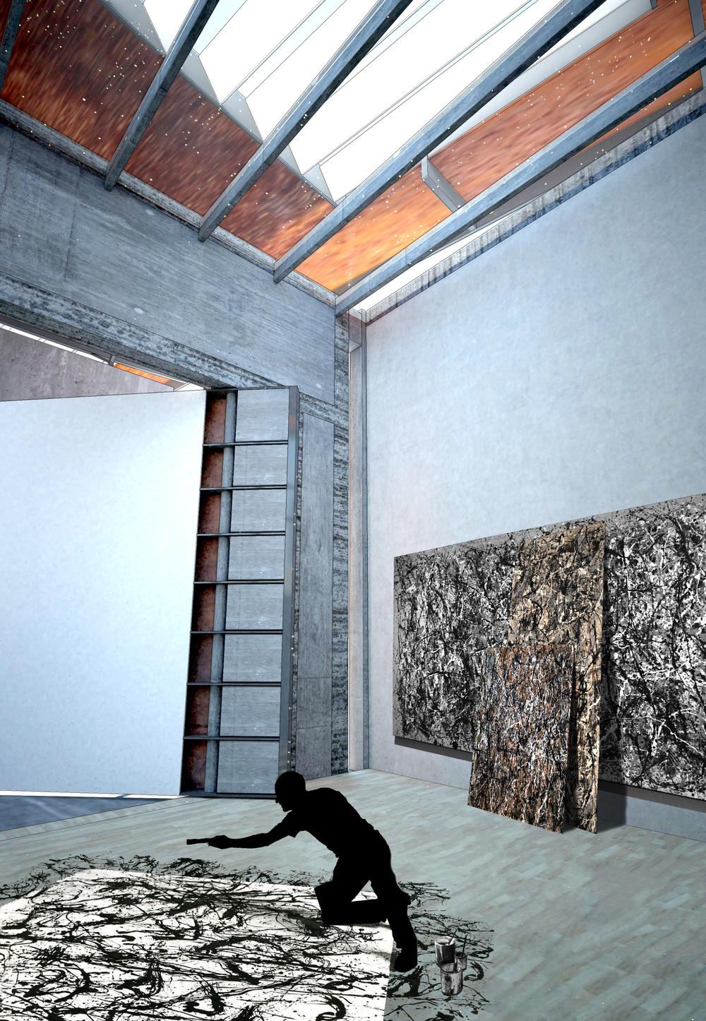 Artist's studio | Painting