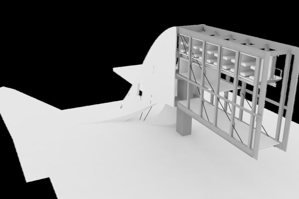 Hostel | Concrete Ribbon