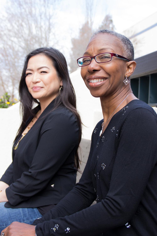 MiMA CEO, Kathrina Miranda & COO, Carole Wright
