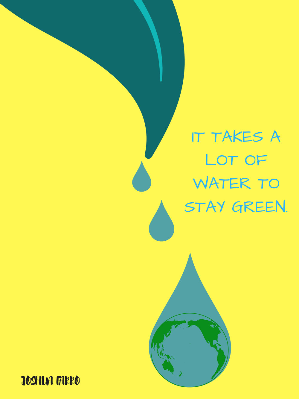 IT TAKES A LOT OF WATER TO STAY GREEN.jpg