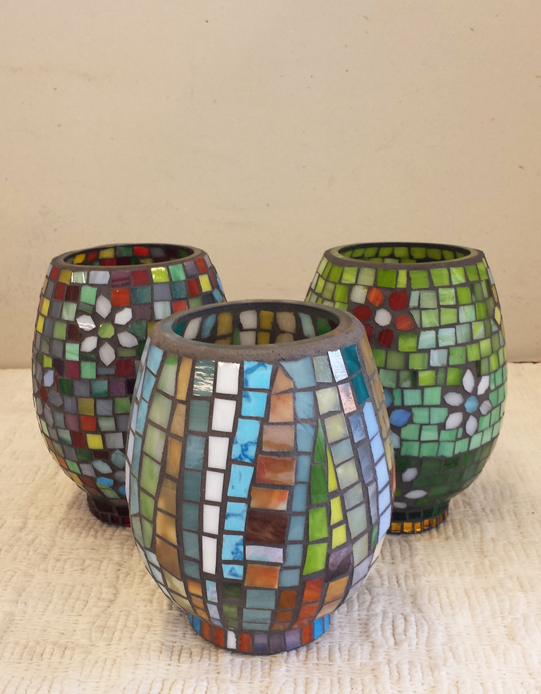 Glass Cutting for Mosaics Skills-Building $480 (Group of 4-5) $750 (Group of 6-8)