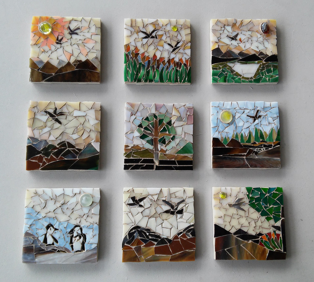 Tile Art and Easel 4Inch The Piece Shop