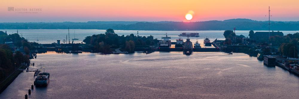 Kiel Locks - Holtenau